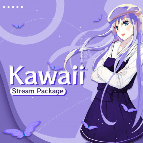 Kawaii Anime Stream Overlay Thumbnail