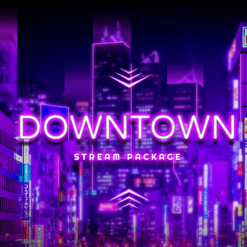 Downtown Neon Obs Overlay Thumbnail