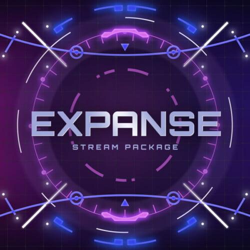 Expanse Neon Stream Overlay Thumbnail