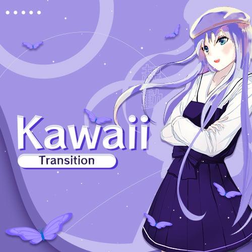 Kawaii Anime Twitch Transition Thumbnail