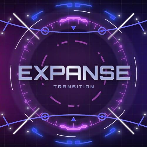 Expanse Neon Twitch Transition Thumbnail