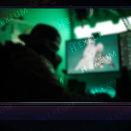 Luminal Particle Webcam Overlay
