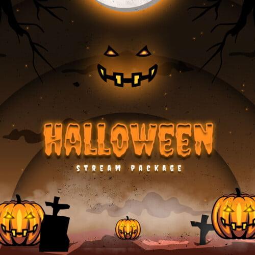 Halloween Stream Overlay Thumbnail