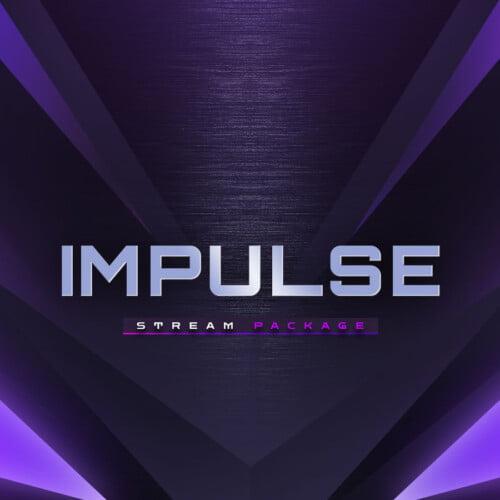 Impulse Purple Obs Overlay Thumbnail