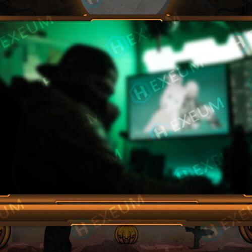 Halloween Webcam Overlay