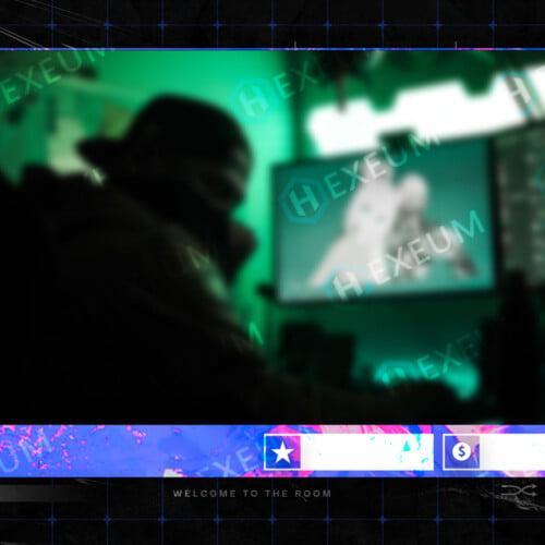 Hypebeast Webcam Overlay