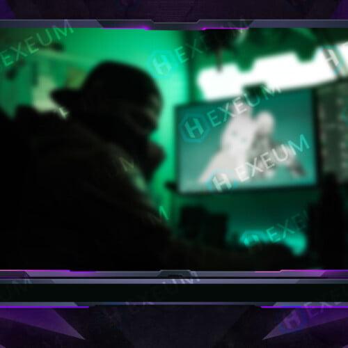 Impulse Purple Webcam Overlay