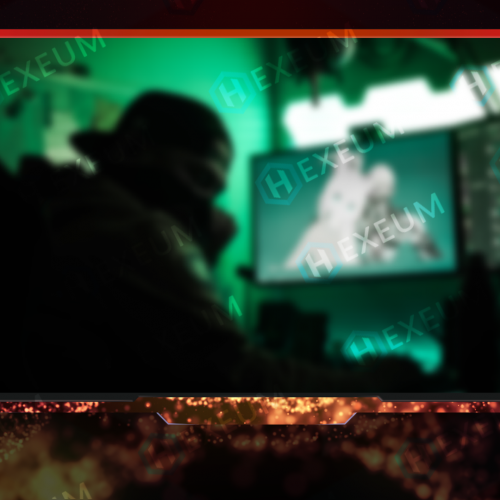 Inferno Particle Webcam Overlay
